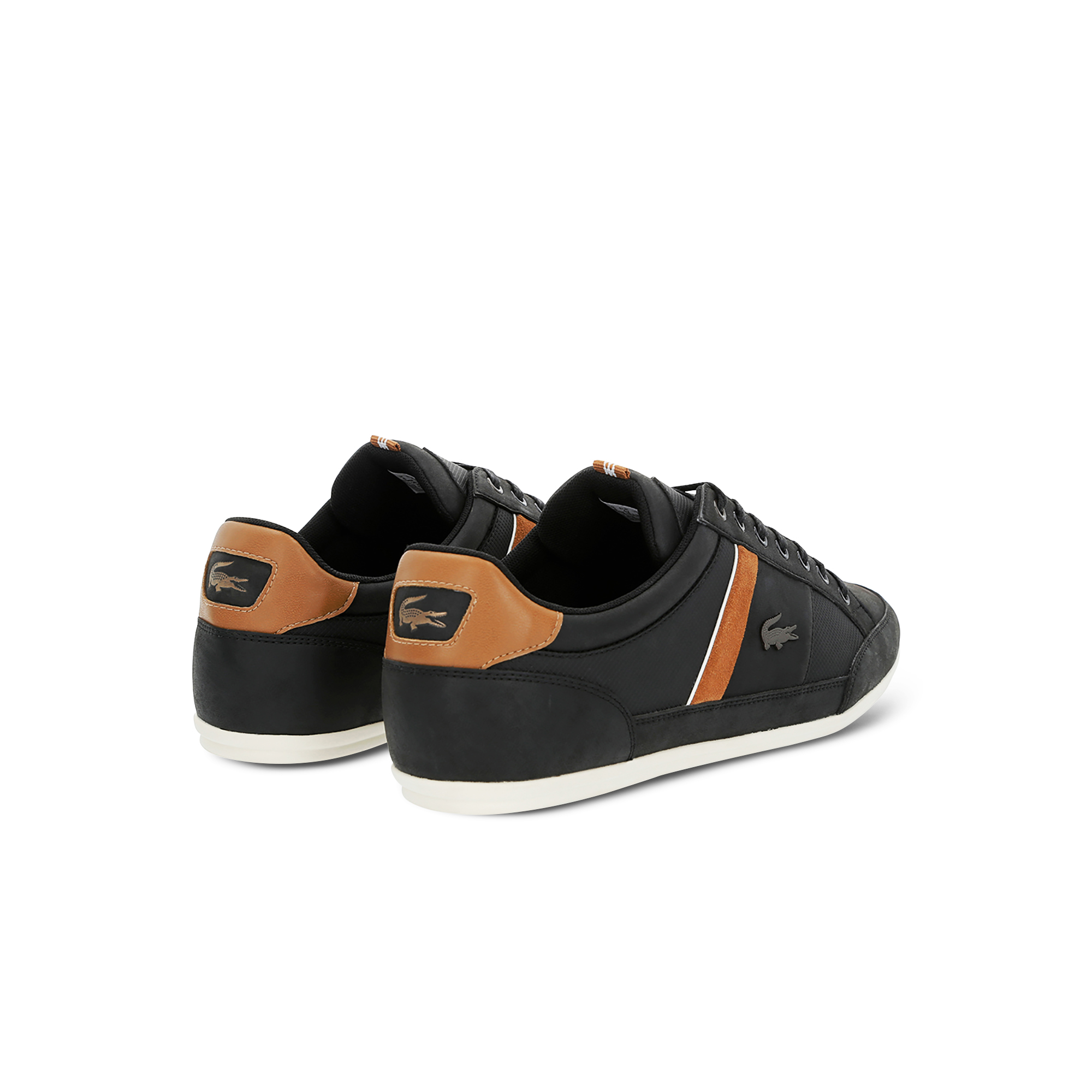 Men's Chaymon Embossed Leather Trainers