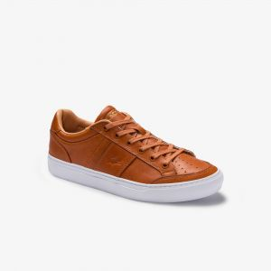 Men's Courtline Leather Sneakers