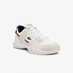 Men's T-Point Leather and Suede Trainers