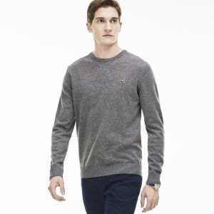 Crew Neck Sweater In Wool Jersey