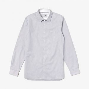 Men's Regular Fit Texturized Cotton Shirt