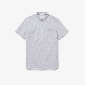 Men's Regular Fit Check Cotton Shirt