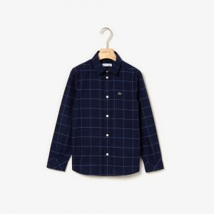 Boys' Check Flannel Shirt