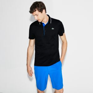 Men's Lacoste Sport Lettering Stretch Technical Jersey Golf Polo
