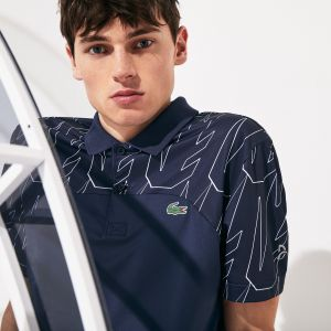 Men's Lacoste Sport X Novak Djokovic Breathable Ultra-Light Polo Shirt
