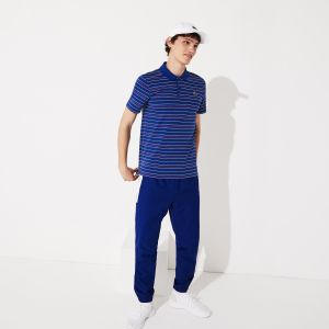 Lacoste Sport Striped Polo Shirt