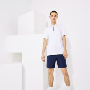 Men's Lacoste SPORT Signature Breathable Golf Polo Shirt