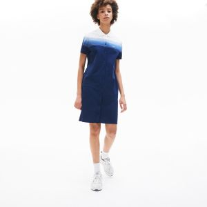 Women's Made In France Cotton Pique Polo Dress