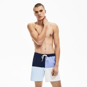 Men's Colourblock Quick-Dry Swim Shorts