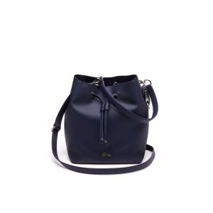 Women's Daily Classic Coated Pique Canvas Bucket Bag