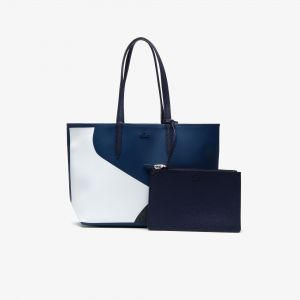 Women's Anna Reversible Colorblock Coated Canvas Tote Bag