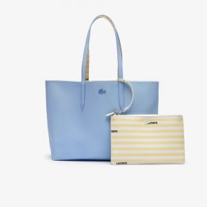 Women's Anna Reversible Solid Or Striped Colourblock Tote Bag
