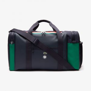 Men's Roland Garros Two-Tone Nylon Zippered Sports Bag