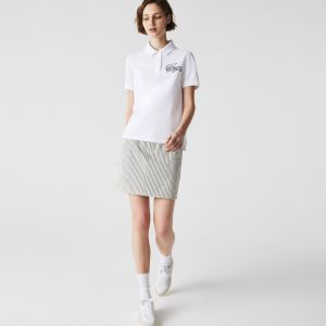Women's Lacoste Regular Fit Cotton Polo Shirt