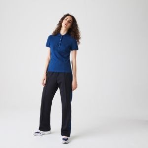 Women's Lacoste Stretch Cotton Pique Polo Shirt
