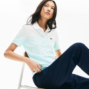 Women's Lacoste Made In France Organic Cotton Pique Polo Shirt