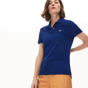 Women's Lacoste Classic Fit Soft Cotton Petit Pique Polo Shirt