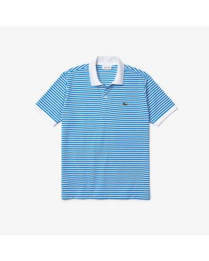 Lacoste Men's Classic Fit Striped Cotton Polo