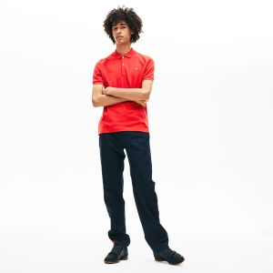 Unisex Lacoste Live Slim Fit Petit Pique Polo Shirt