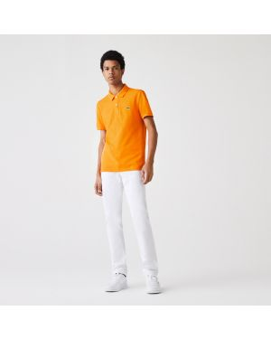Men's Slim fit Lacoste Polo Shirt in petit pique