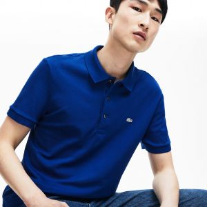 Men's Slim fit Lacoste Polo Shirt in stretch petit pique