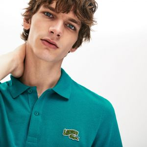 Men's Lacoste Embroidered Badge Regular Fit Cotton Pique Polo Shirt