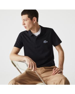 Men's Lacoste Regular Fit Badge Cotton Piqué Polo Shirt