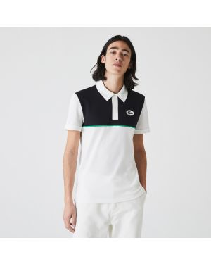 Men's Lacoste Heritage Slim Fit Stretch Cotton Pique Polo Shirt