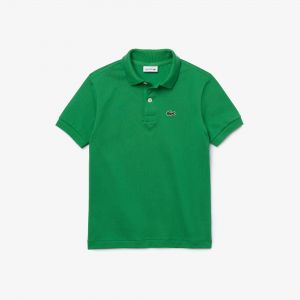 Kids' Lacoste Regular Fit Petit Pique Polo Shirt