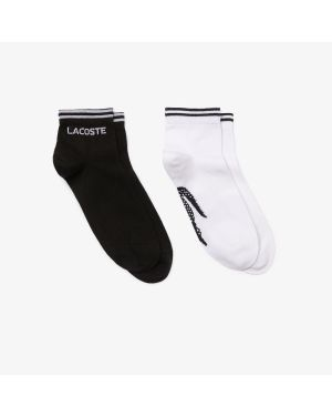 Men's Two-Pack Of Lacoste SPORT Cotton Socks