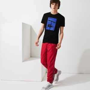 Men's Lacoste SPORT 3D Print Breathable T-shirt
