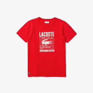 Boy's Lacoste Original Cotton T-Shirt