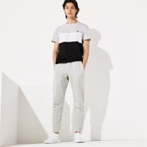 Men's Lacoste Sport Fitted Cotton Blend Sweatpants