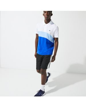 Men's Lacoste SPORT Ultra-Light Colourblock Tennis Polo Shirt
