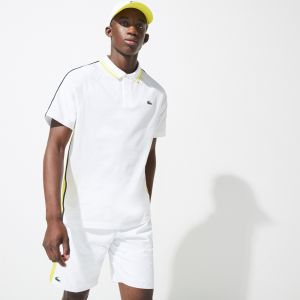 Men's Lacoste SPORT Bicolour Ultra-Lightweight Knit Tennis Polo Shirt